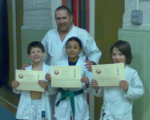 Kids and Karate